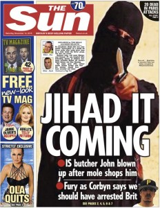 Jihadi John Front Page